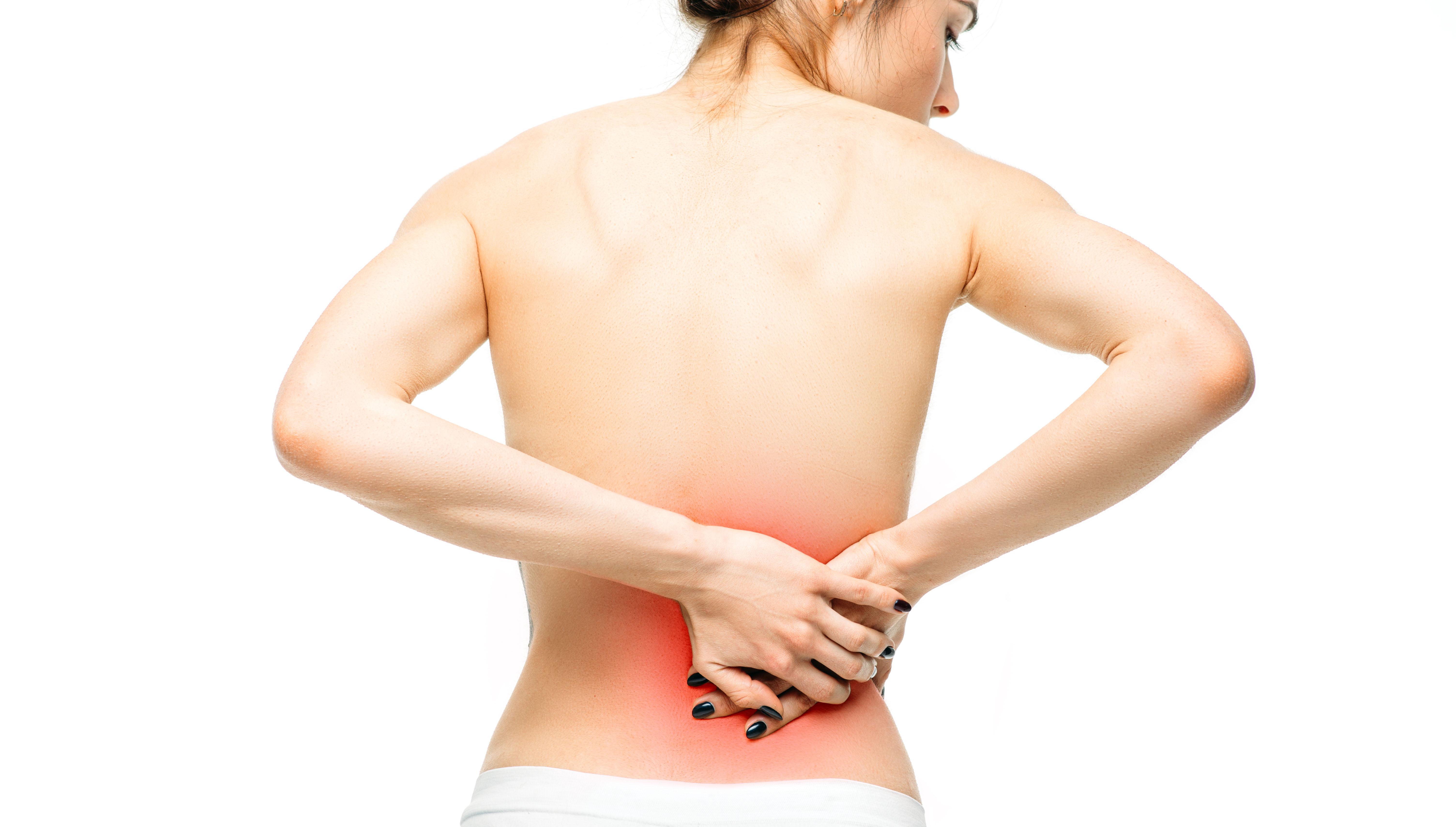 Mal di schiena: parte alta